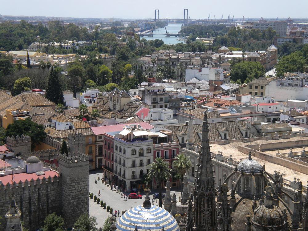 Sevilla, seen from atop La Giralda