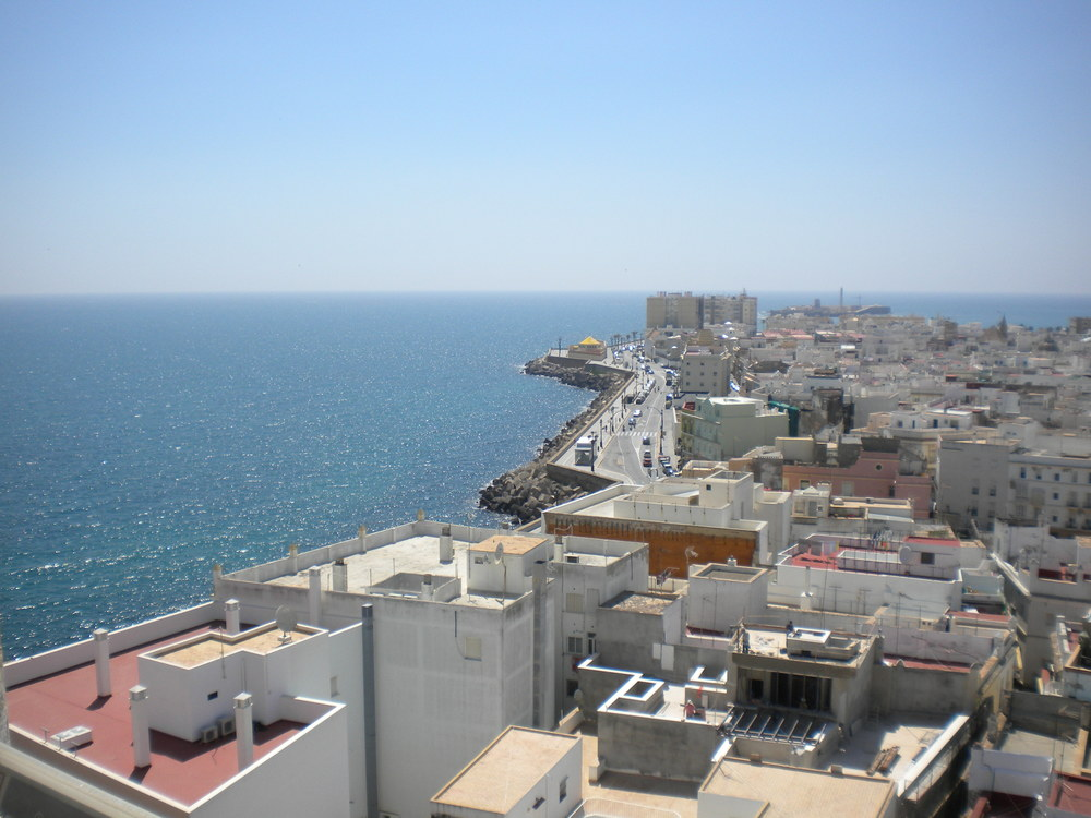 Cádiz, seen from Torre de Poniente