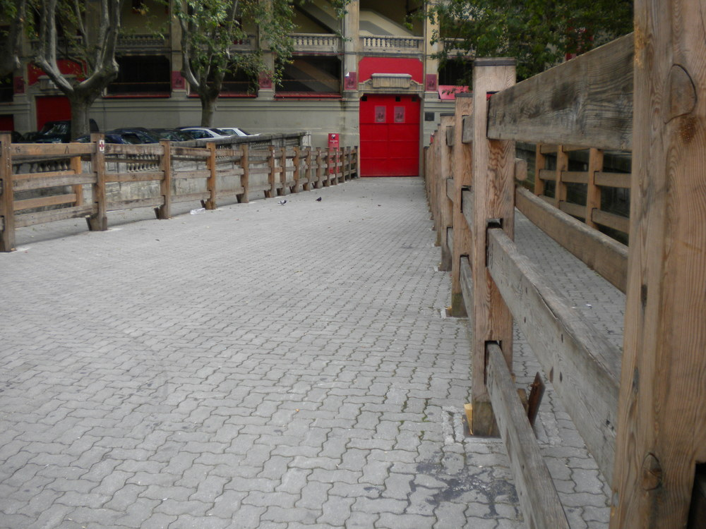 El vallado, Pamplona/Iruña