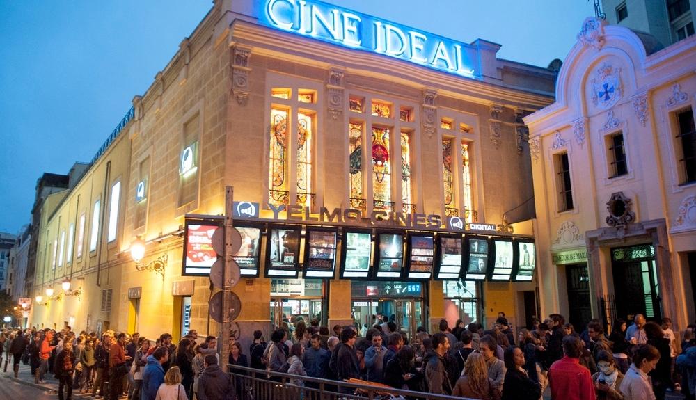 Cine Ideal, Plaza de Jacinto Benavente, Madrid