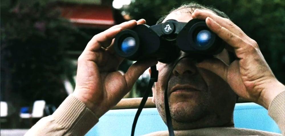 Héctor (Karra El  ejalde  ) in    Los cronocrímenes  (  Timecrimes  2007)