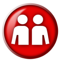 red - promote icon