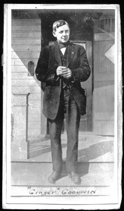 Albert 'Ginger' Goodwin, 1911 - Courtesy of the Cumberland Museum and Archives [C110-002]