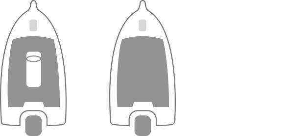 Ski Angler Configurations