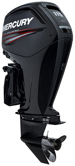 Get in quick - The first 10 sold will power up with a free upgrade to the 115 4-stroke Mercury outboard.