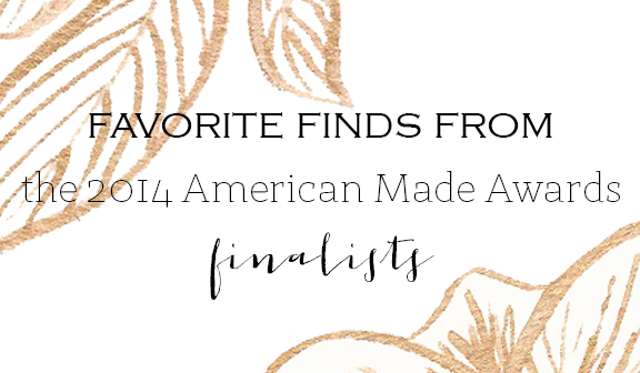 Boxwood Avenue: American Made Awards Finalists Favorites