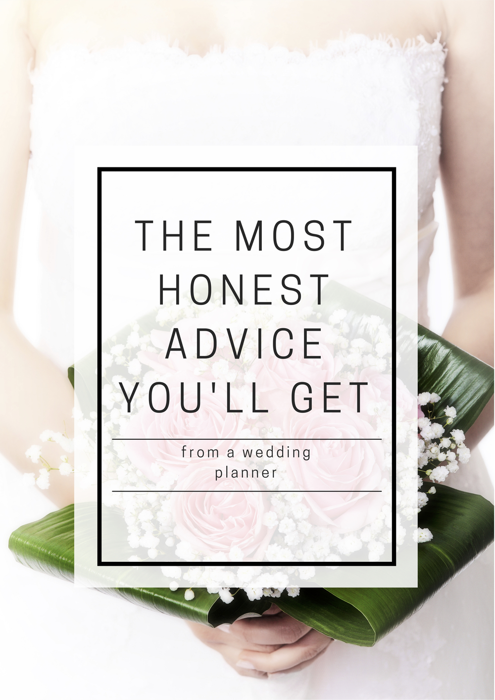 The most honest advice you'll get: from a wedding planner | Boxwood Avenue