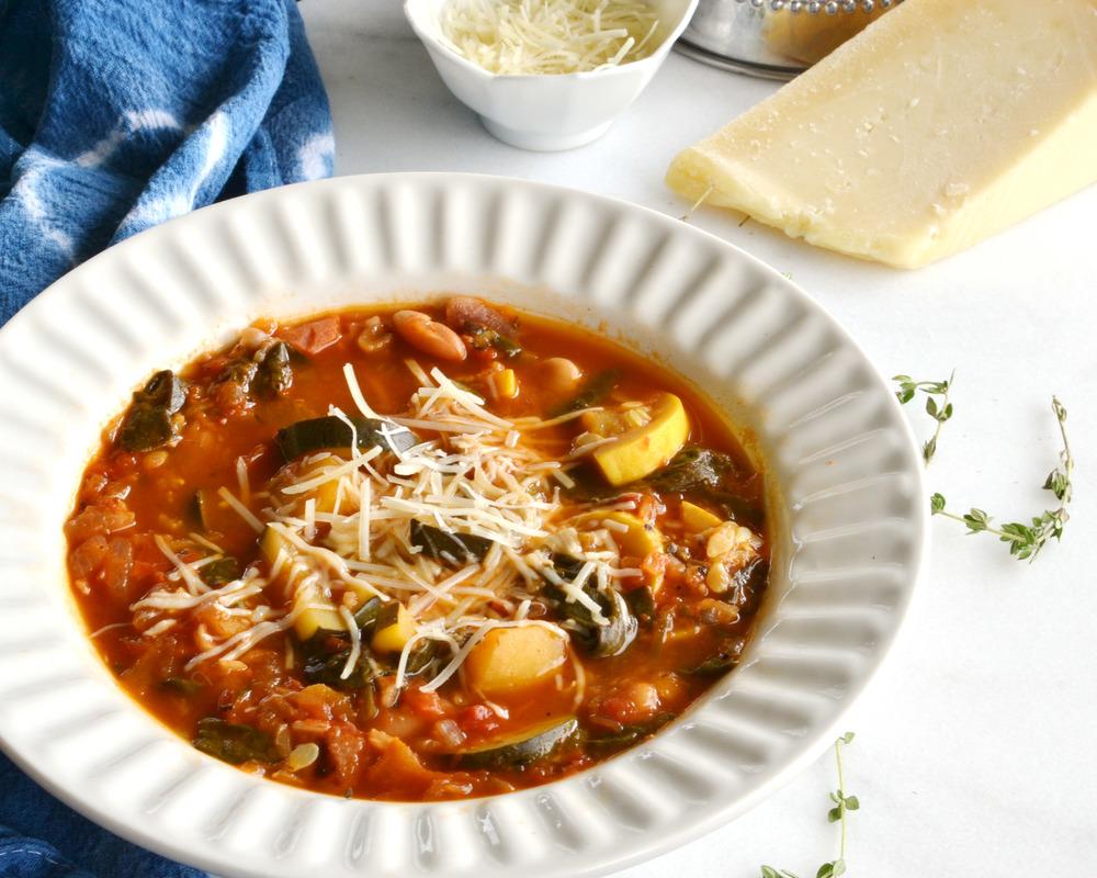 Veggistrone Soup | Boxwood Avenue