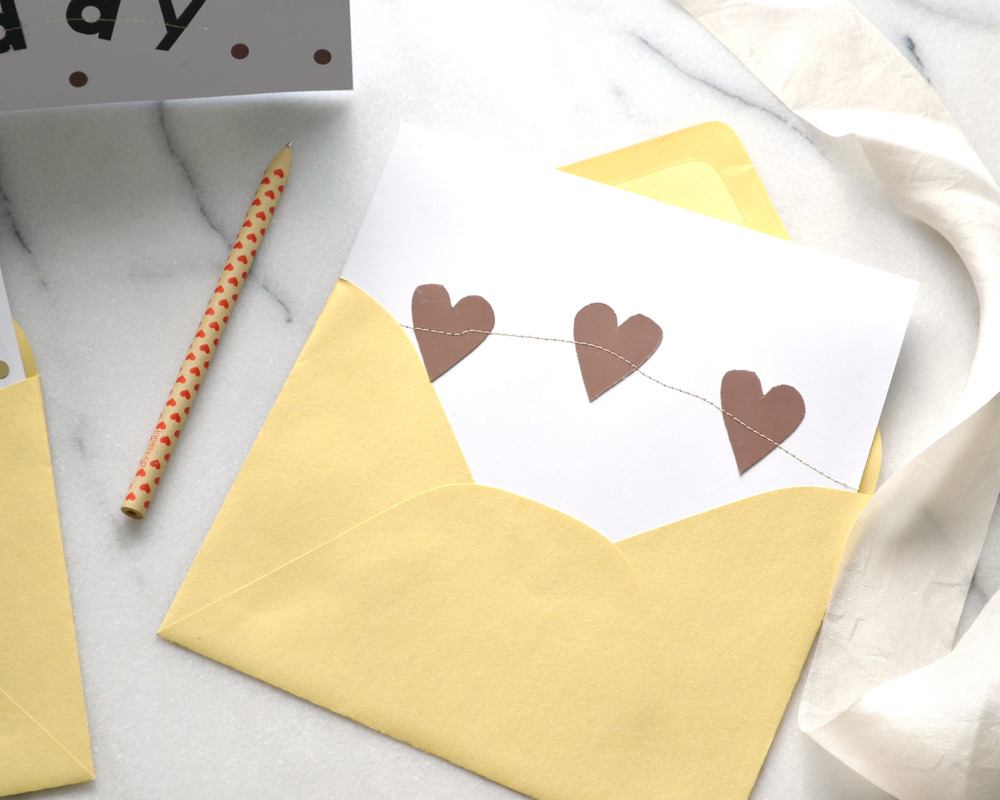 DIY Mother's Day Card with Paint Chips | Boxwood Avenue
