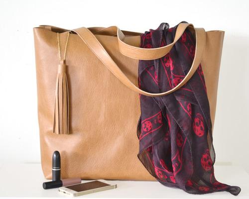 19a4d1fa654 DIY Leather Tote — Boxwood Avenue