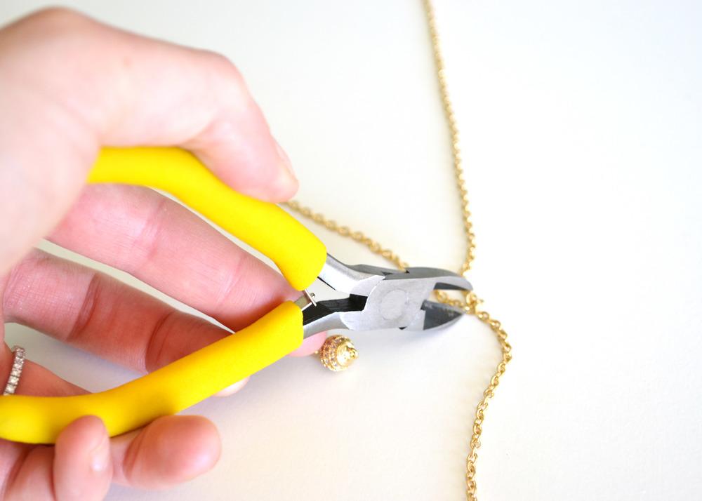 DIY Tassle Necklace | Boxwood Avenue
