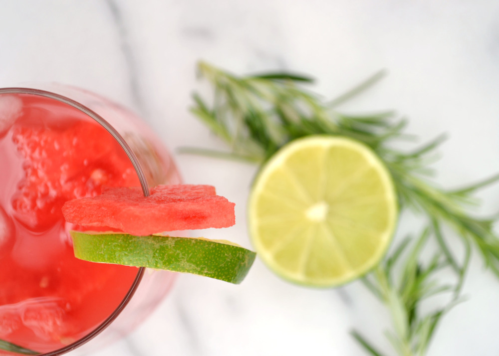 Rosemary Watermelon Agua Fresca | Boxwood Avenue