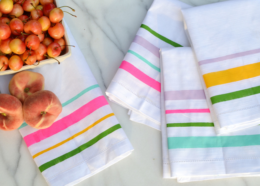 DIY Painted Summer Napkins 8 | Boxwood Avenue for Darby Smart.jpg