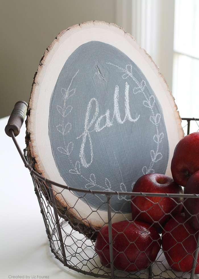 Easy DIY fall sign from I Heart Naptime
