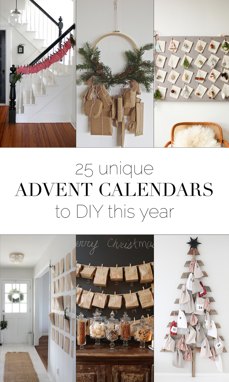 25 unique easy advent calendars to diy this year boxwood avenue