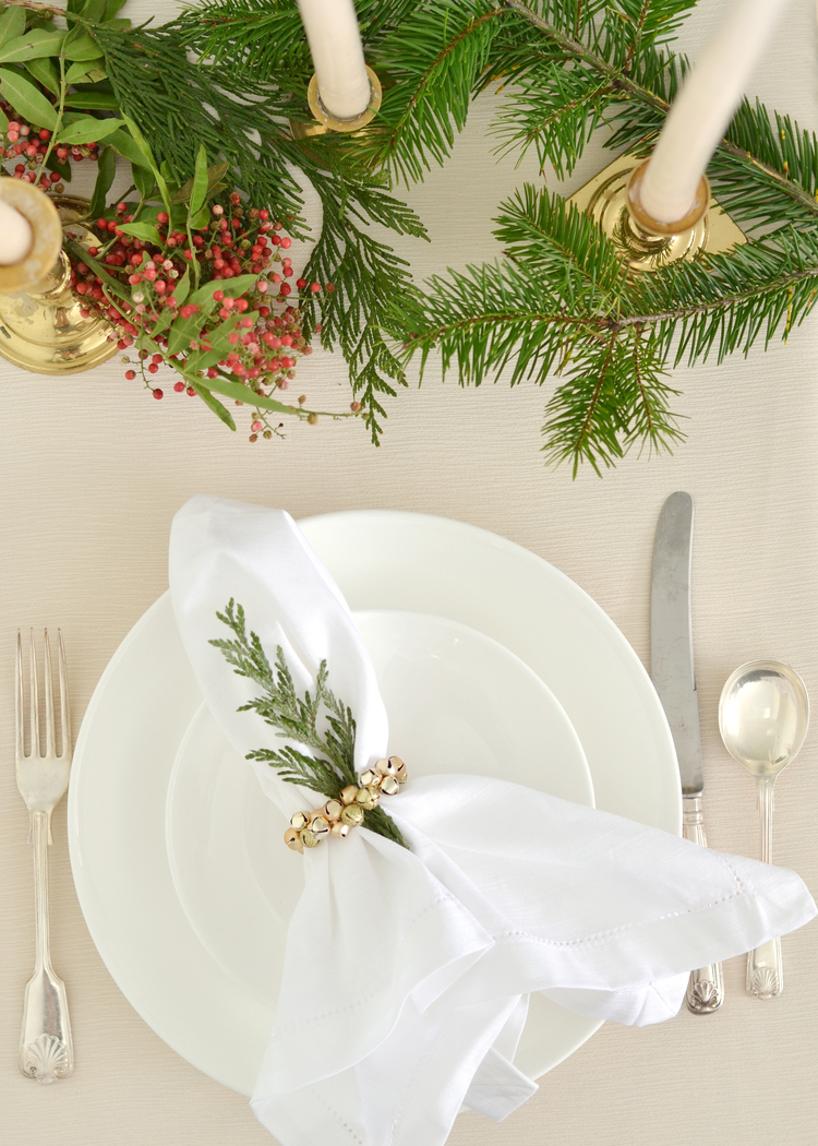 Diy Jingle Bell Napkin Ring Boxwood Avenue