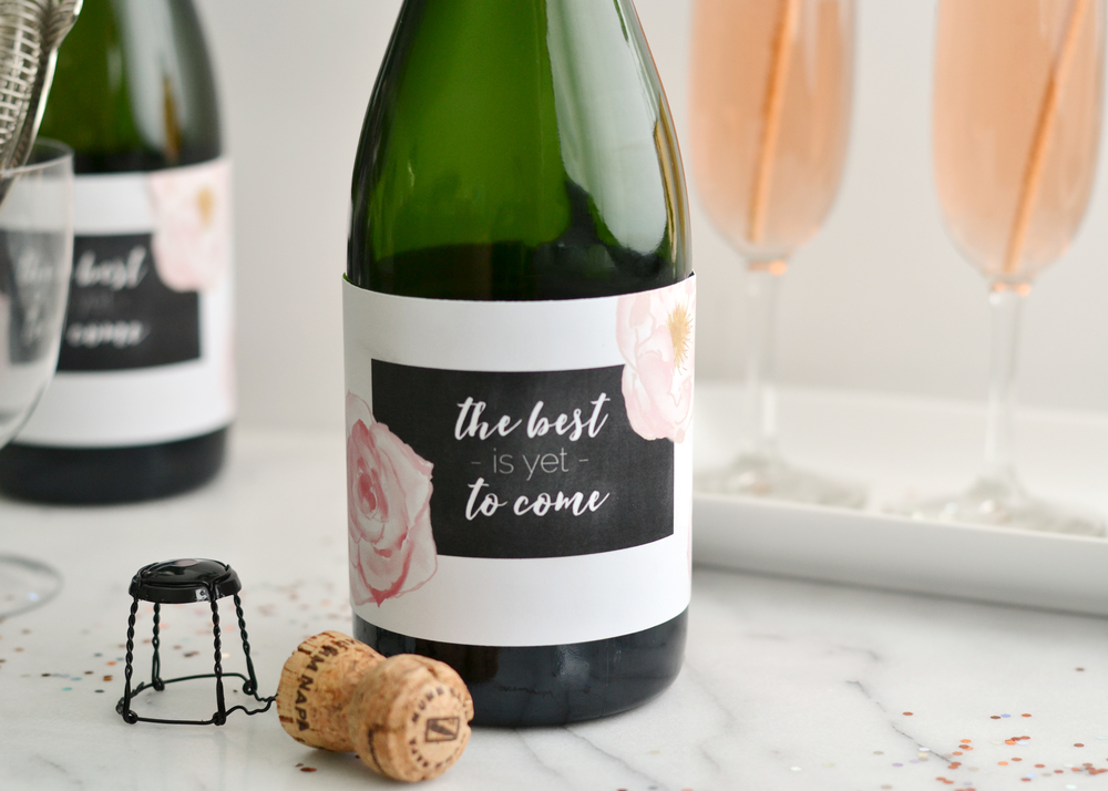 Cute New Year's Eve party idea from boxwoodavenue.com