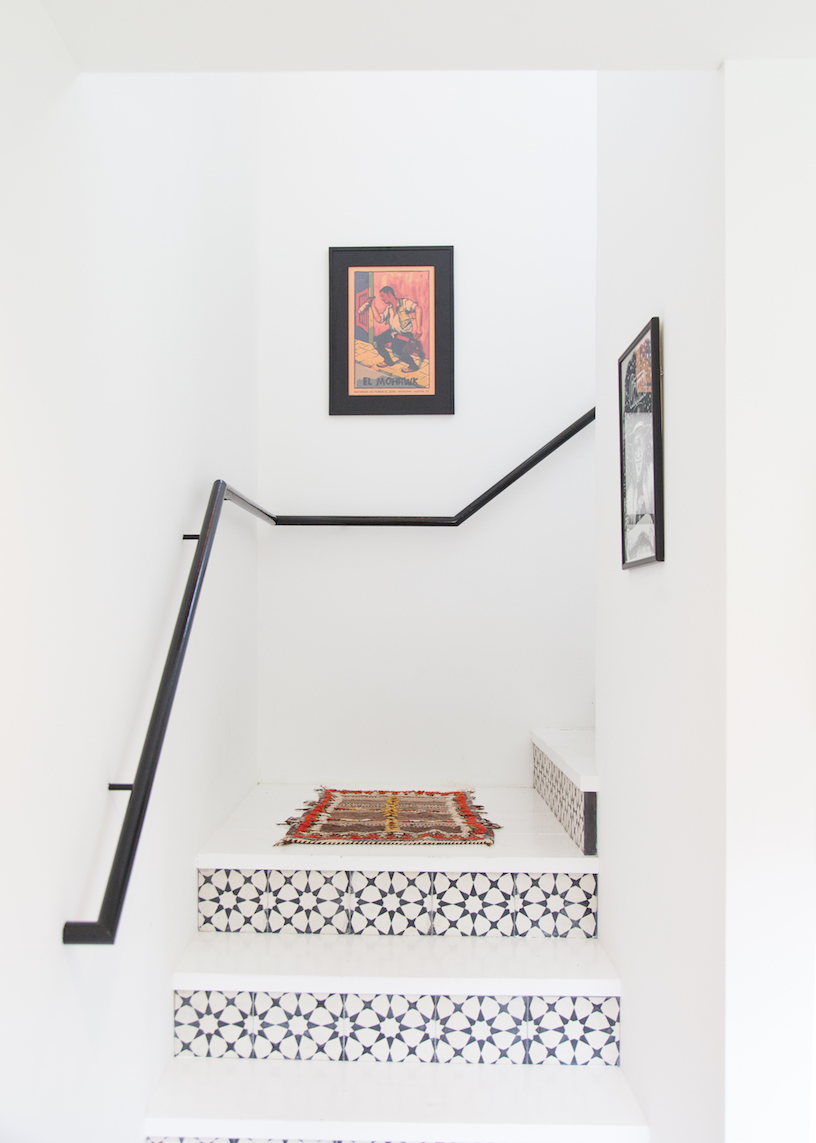 Amazing patterned & cement tile inspiration - [Claire Zinnecker Design]