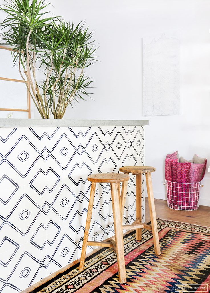 Amazing patterned & cement tile inspiration [Amber Inteiors | Tessa Neustadt]