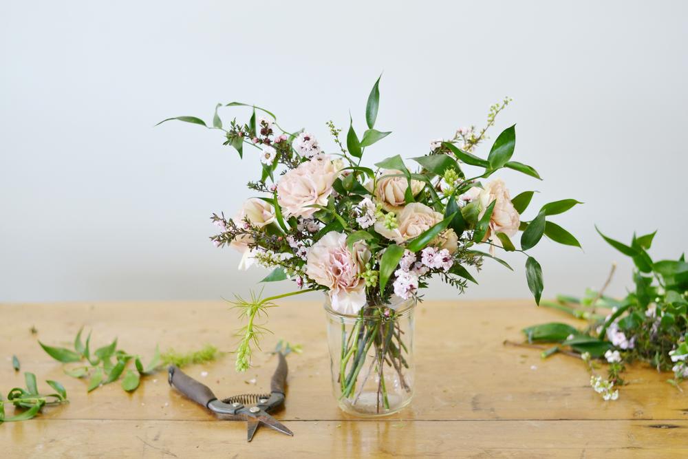 Mother\'s Day Mason Jar Mini Bouquet — Boxwood Avenue
