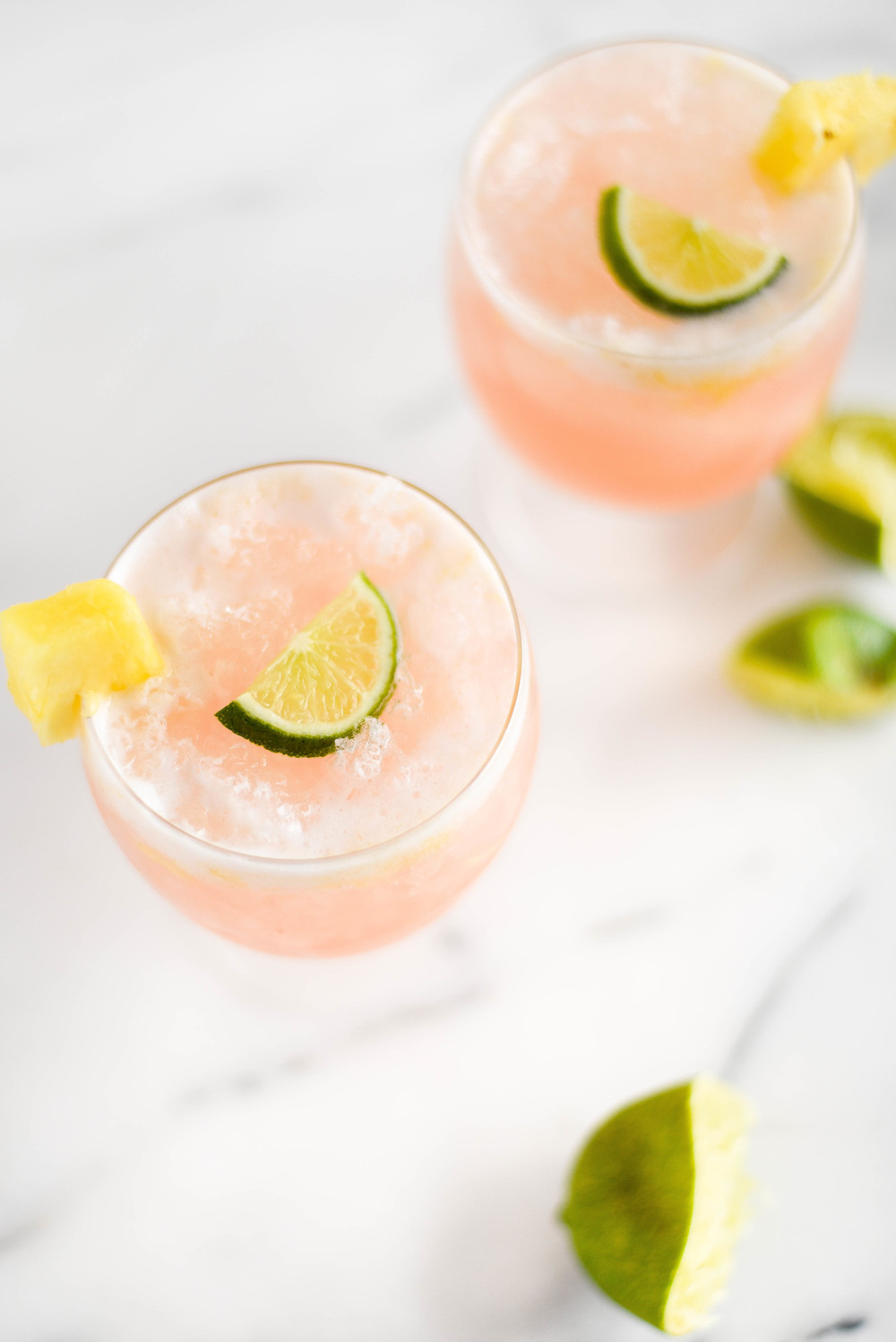 Tastes like Hawaii - coconut with pineapple & lime lacroix summer cocktail | boxwoodavenue.com