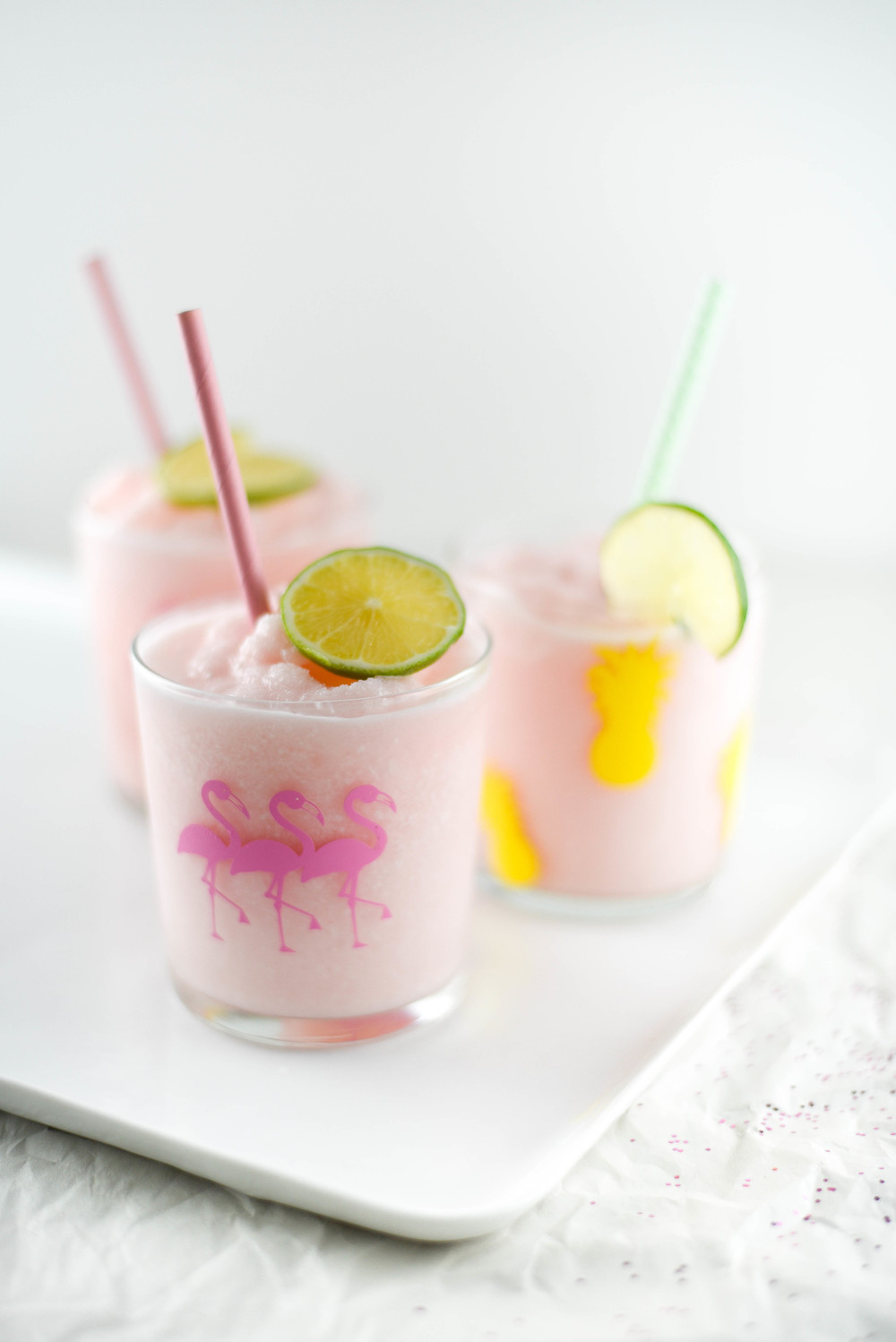 The perfect summer drink for pool parties from boxwoodavenue.com {Cups are a DIY too!}