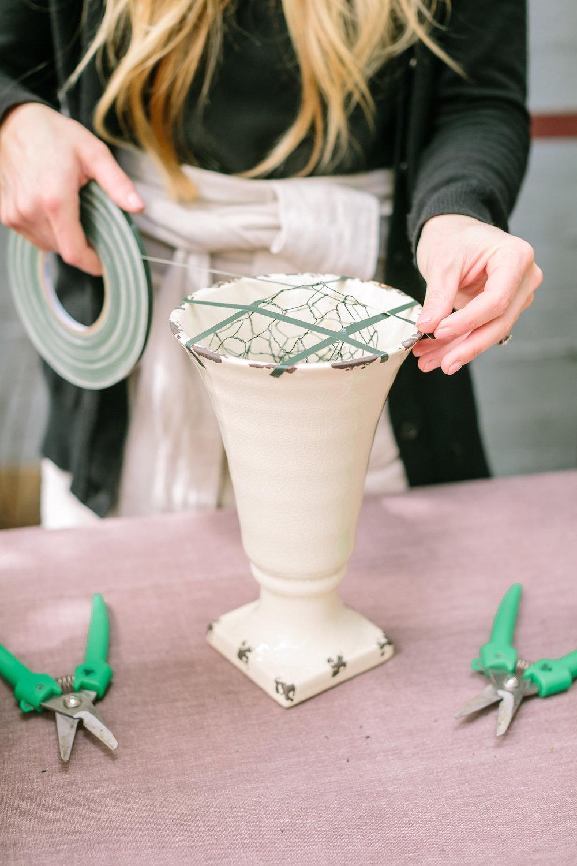 DIY Floral Centerpiece Boxwood Avenue