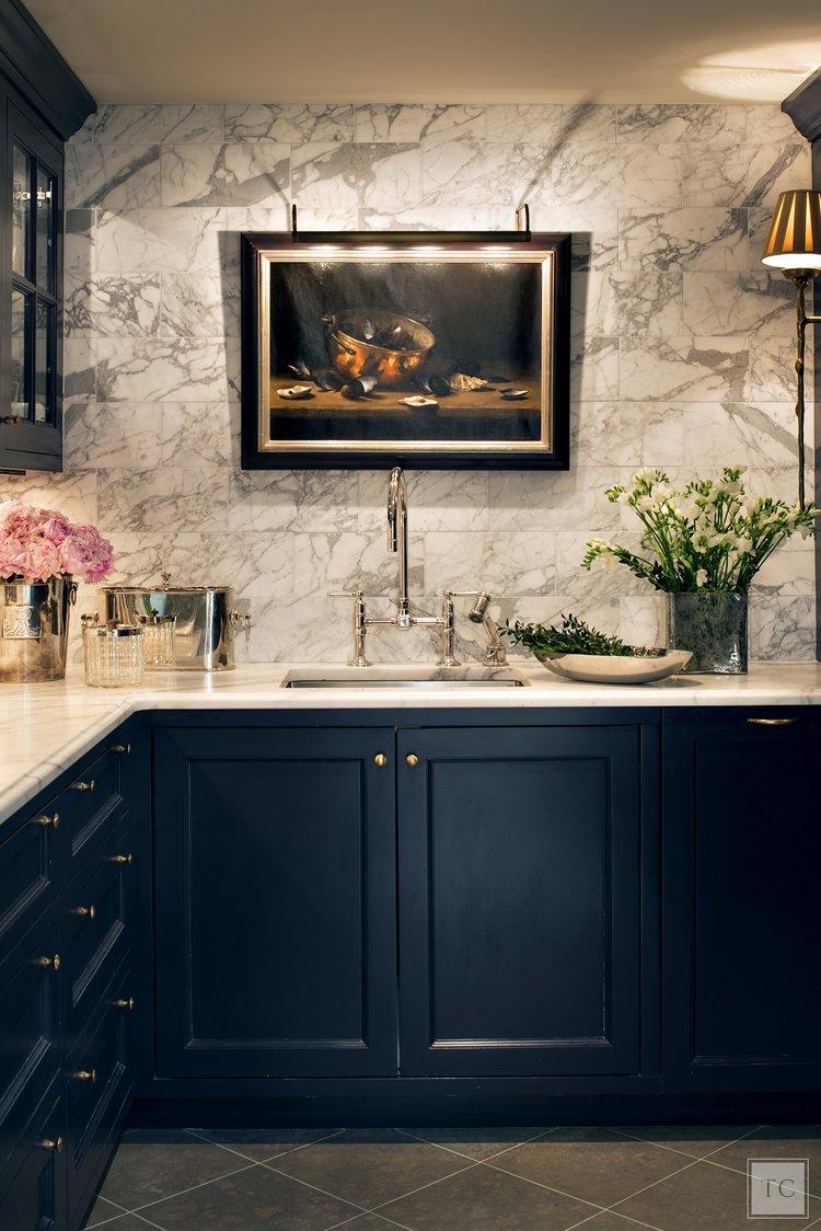 Tammy Conner design work | fine art in the kitchen