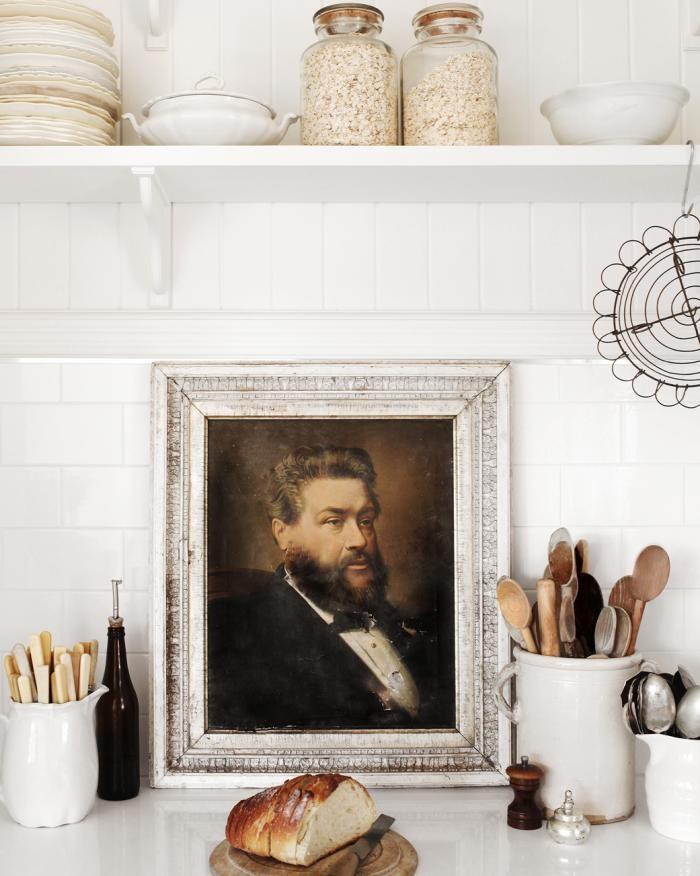Fine art in the kitchen | Remodelista