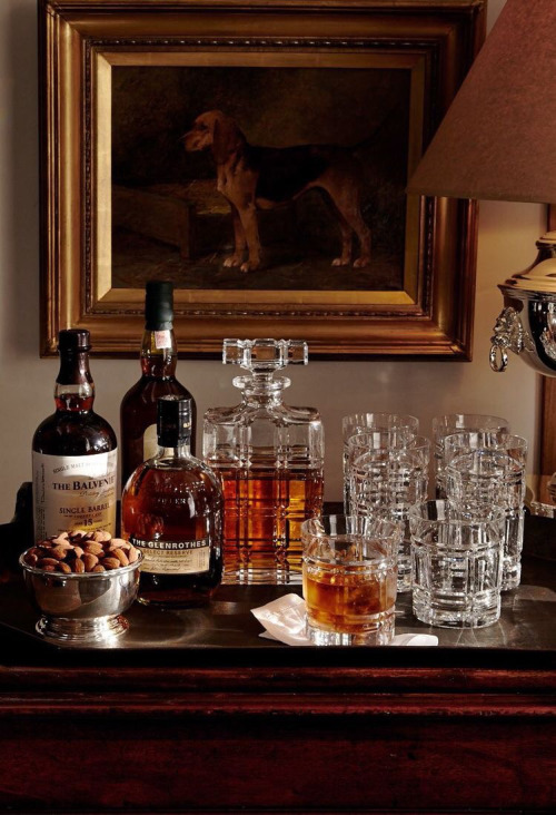 Equestiran bar idea • ralph lauren style | via Zimmo