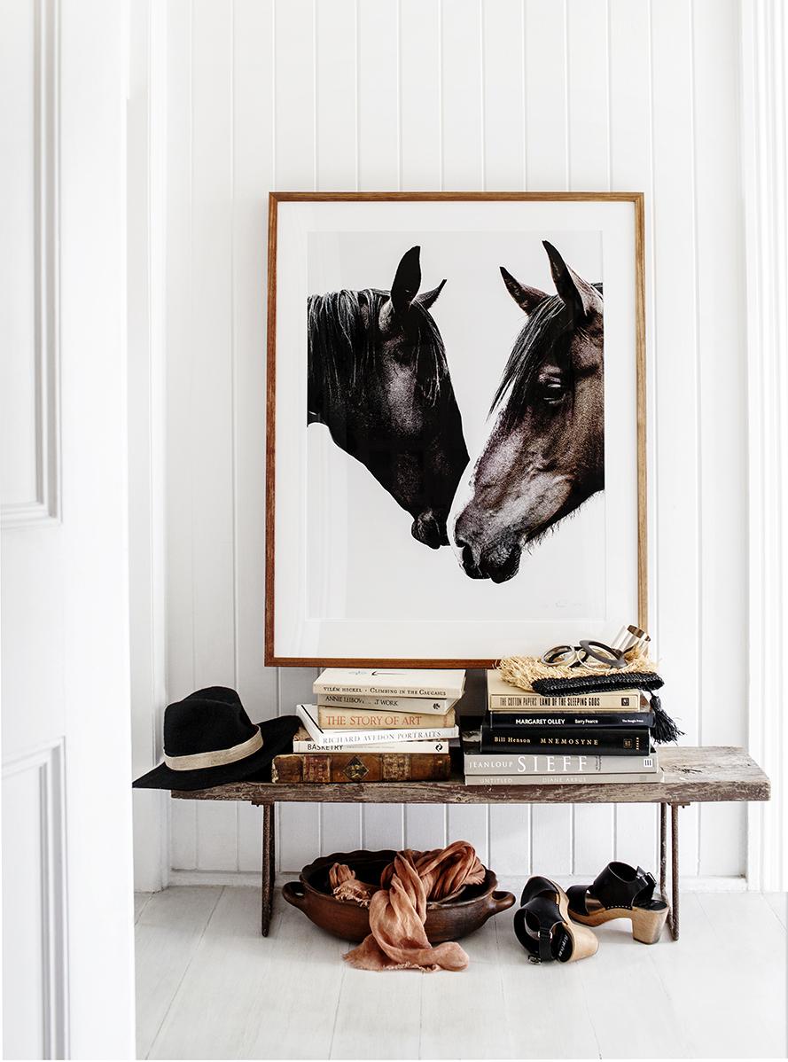 Equestrian entryway | Kara Rosenlund