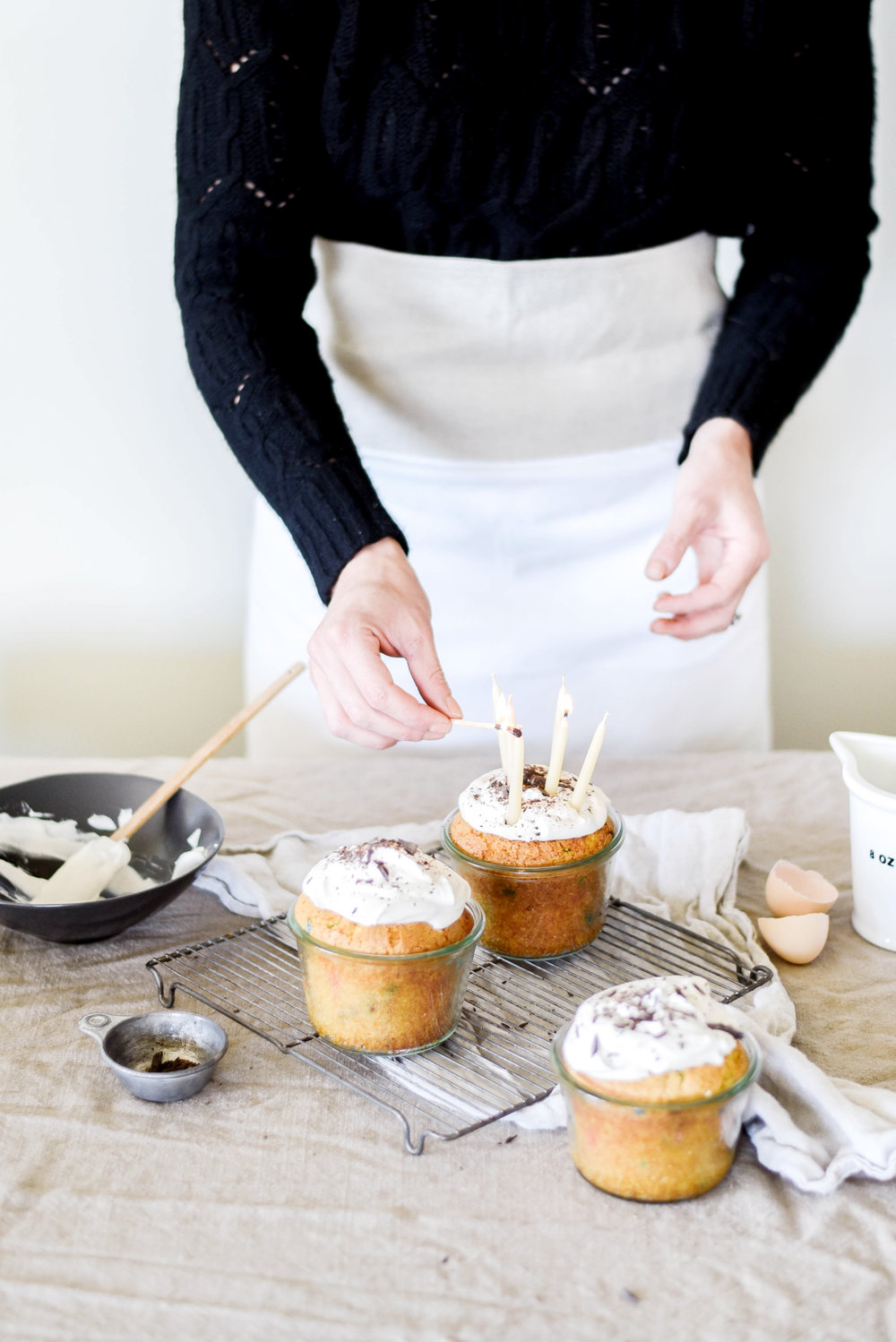 How to bake cake in a glass jar. | boxwoodavenue.com