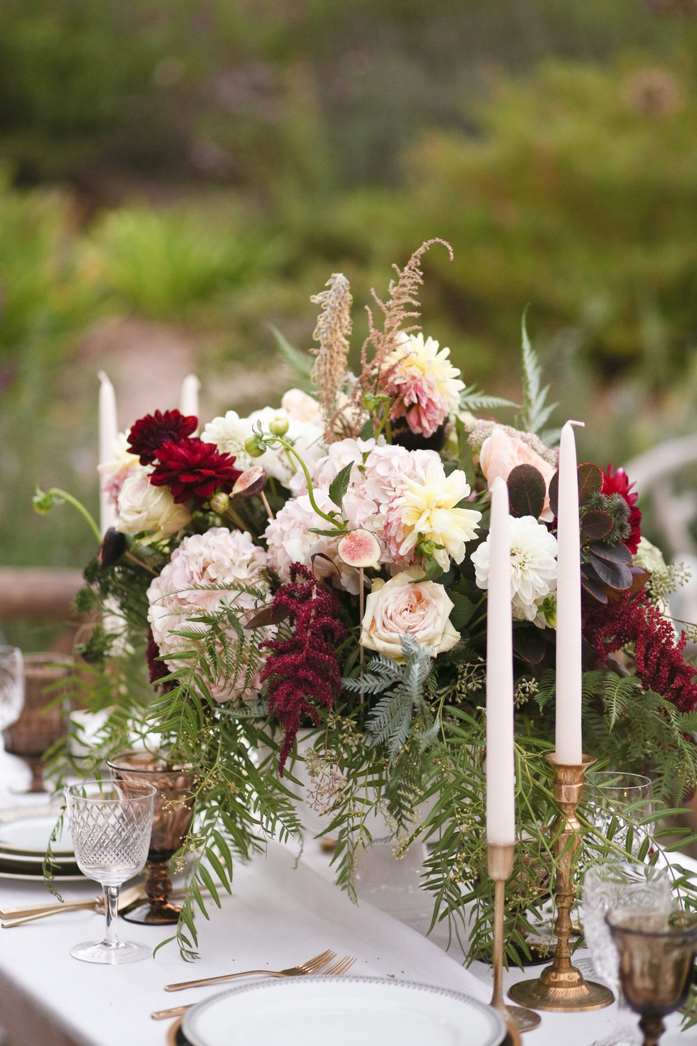 Fall tablescape from Lauren Kelp