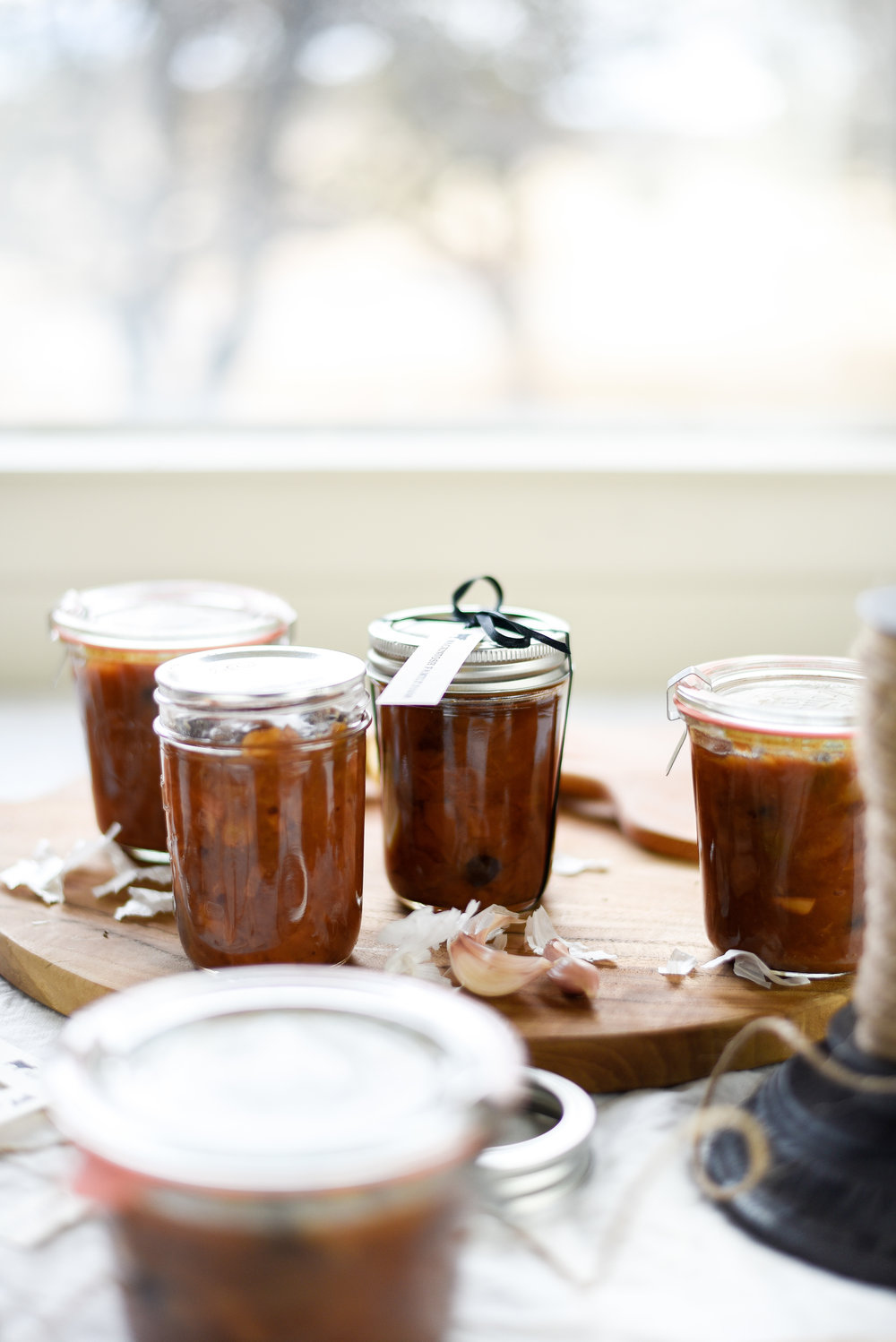 Spiced pear chutney - an edible gift for the holidays! boxwoodavenue.com