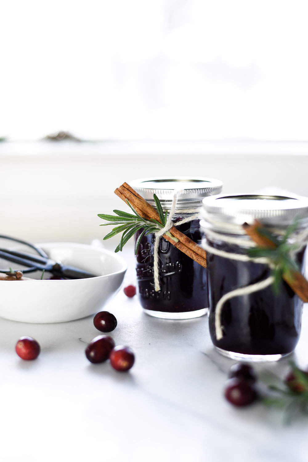 Spiced Cranberry Jam Preserves | boxwoodavenue.com