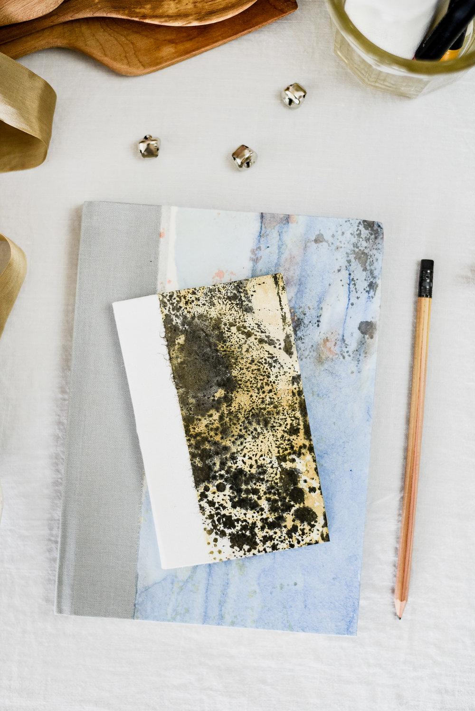 Open book Ink handmade notebooks