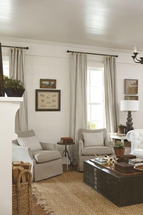 Single Hung window inspiration from Southern Living Mag