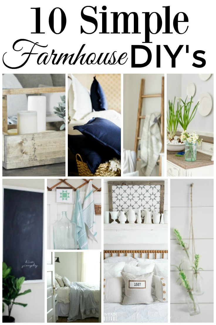 Some great DIY farmhouse decorating ideas | boxwoodavenue.com