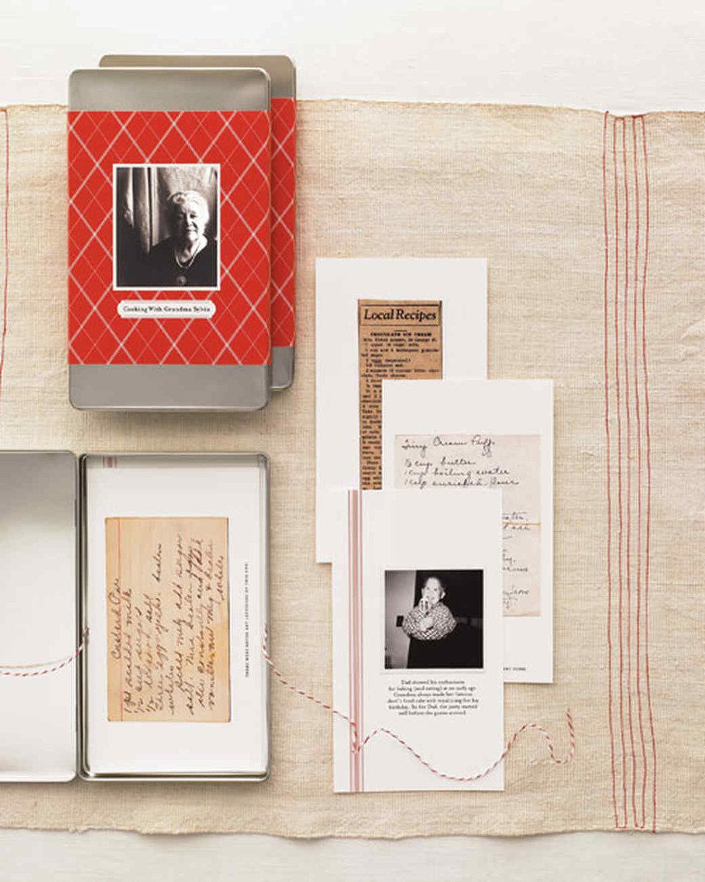DIY Recipe Box with Photos | Martha Stewart Living