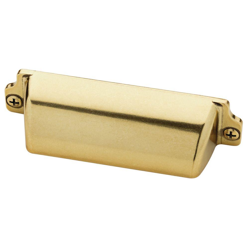Classic Brass Cabinet Hardware from The Home Depot