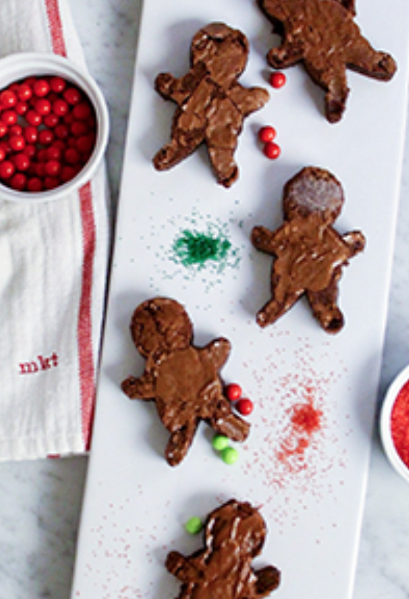 10 Delicious Christmas Treats that aren't Cookies! // Gingerbread Brownies