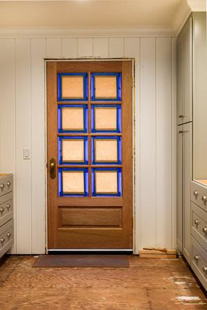 Natural Wood Exterior Door | boxwoodavenue.com
