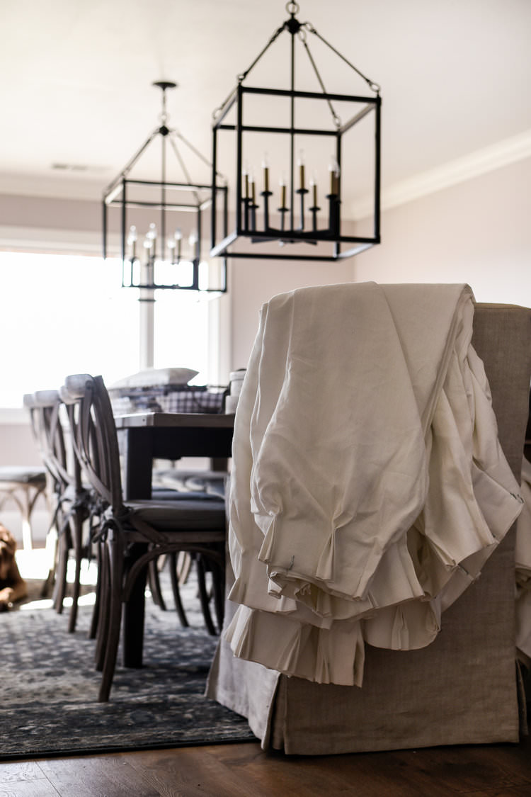 One Room Challenge Dining Room French Country Inspired | boxwoodavenue.com