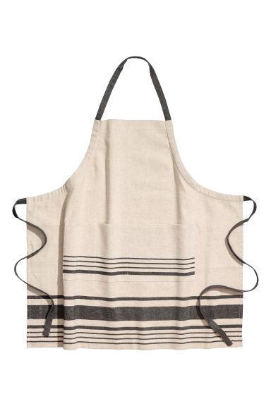 linen blend farmhouse apron