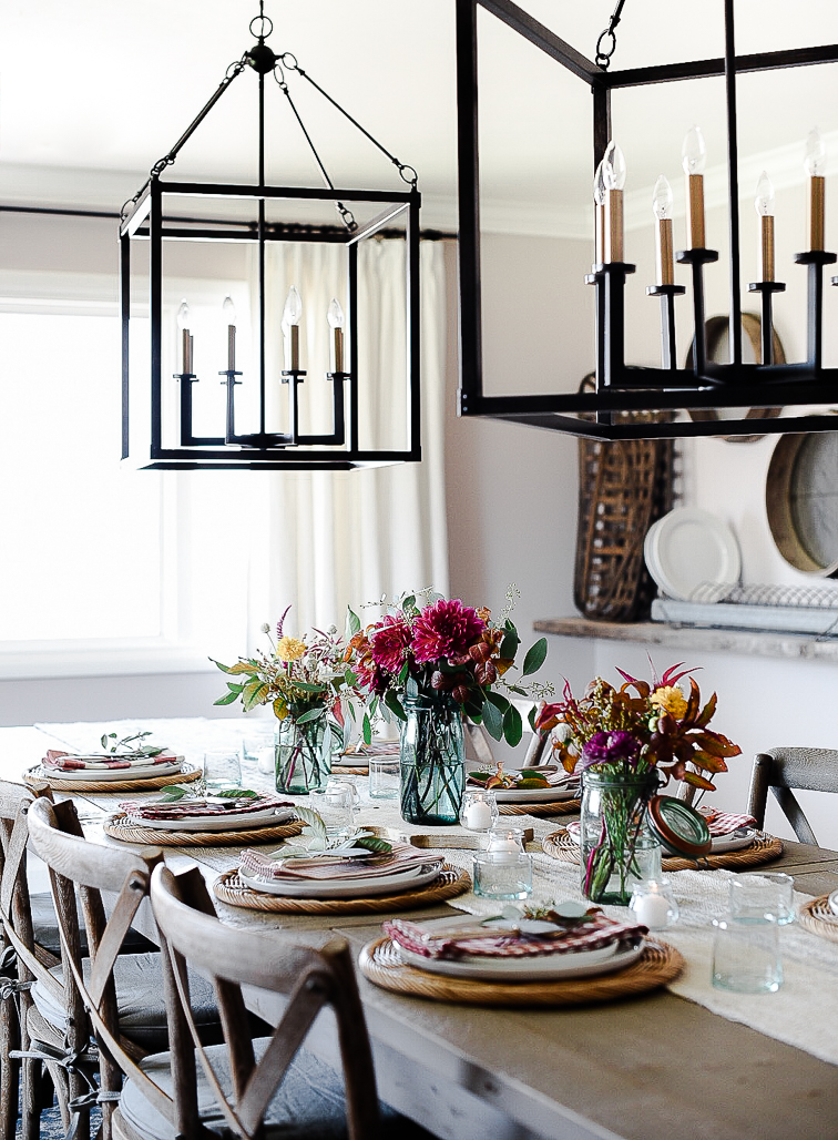 Fall tablescape decorating ideas with easy centerpieces - boxwoodavenue.com & Fall Decorating Ideas: Easy Fall Centerpieces \u0026 Table Decorations ...