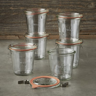 Weck jars perfect for gifting preserves