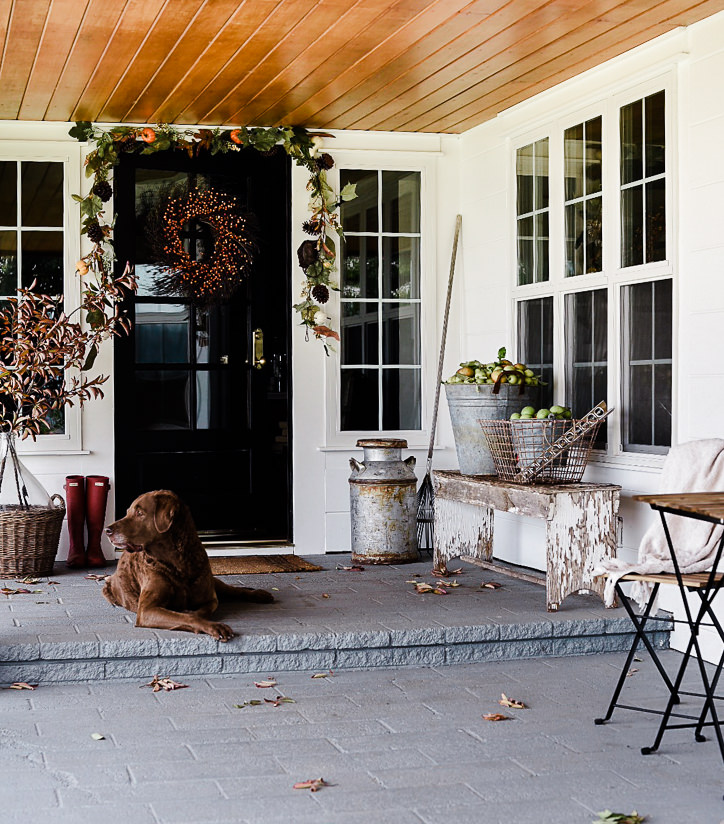 Ranch House Addition Ideas: Fall Decorating Ideas: Fall Porch Decor