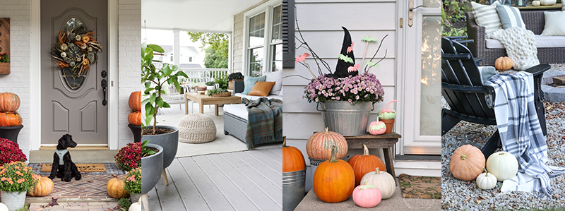 Fall Front Porch Decorating Ideas | Boxwoodavenue.com