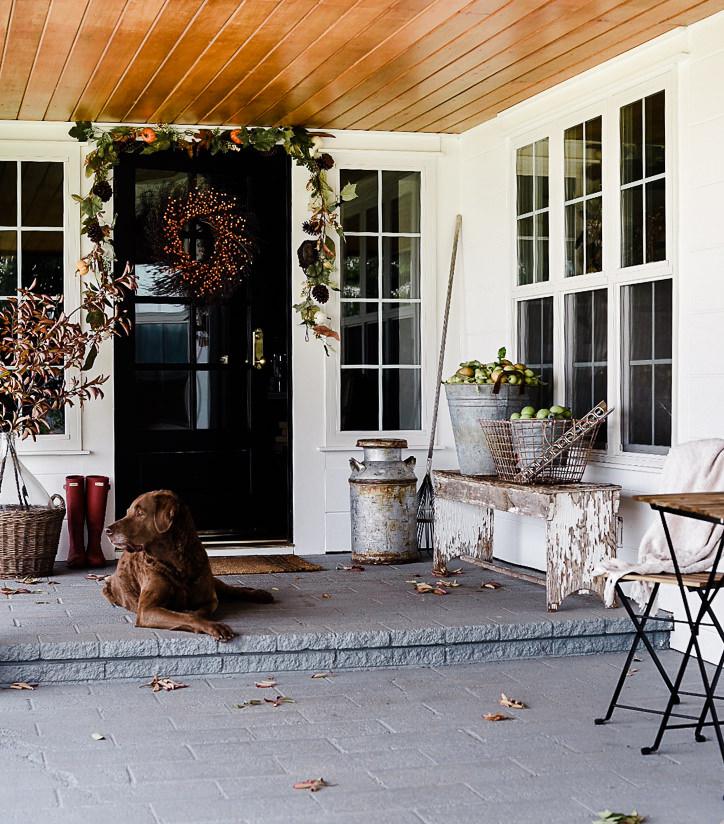 Fall Decorating Ideas: Fall Porch Decor — Boxwood Avenue