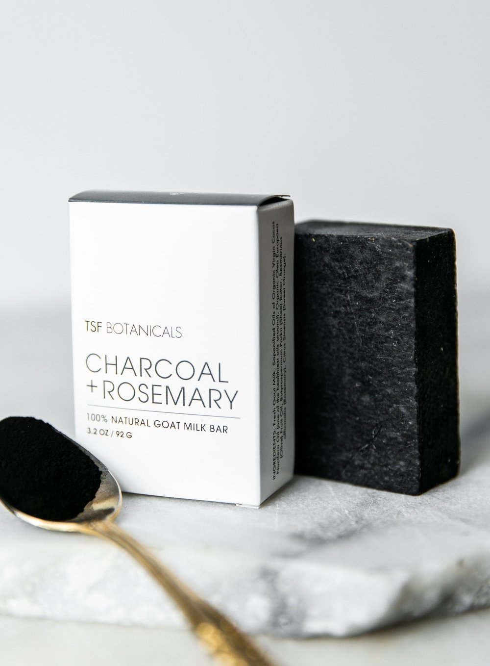 Charcoal & Rosemary Goat Milk Soap Bar: - My friend Lylah is a fellow goat lady, and has developed a line of beauty products using goat milk & botanicals from her farm. Her goat milk soap is truly amazing and is my go-to cleansing bar. I love that it is inexpensive and does an amazing job cleansing my skin after a day spent out in the dirt and dust. This is a staple product for all skin types that cleanses without drying (thanks to the goats milk).